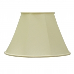 Empire Candle Shade Clotted Cream Dupion
